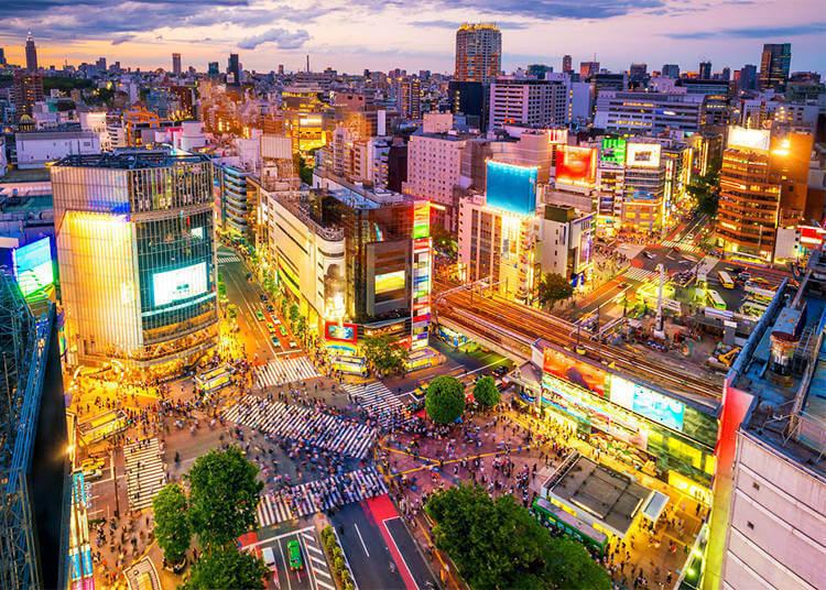 《看看日本哪里适合你》